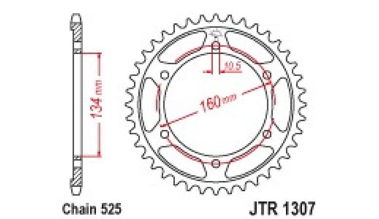 CREMALHEIRA ESJOT 1307-45